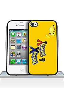 Cool Funda Case for Iphone 4 / 4s Game Pokemon Logo Snap On Personalized Slim High Impact Drop Proof Creative