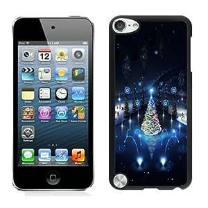 Popular Design Lovely christmas trees lighting Black iPod Touch 5 Case 1