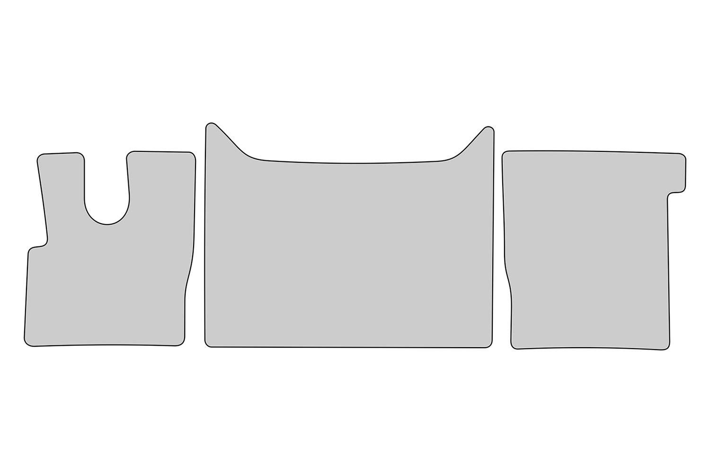 Lettrage et Coutures d/écoratives tuning-art KW605 Tapis de Sol de Camion avec liser/é