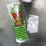 """Skateboard Deck Storage Bags Old School Collectors 12"""" x 36"""" Poly Bag"""