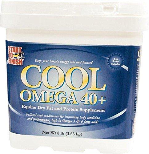 MANNA PRO-EQUINE Start to Finish Cool Omega 40+ Horse Supplement 8 Pound