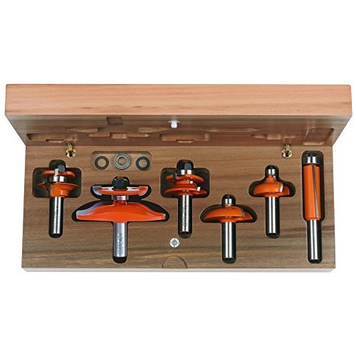 Cabinetmaking Set (CMT 800.515.11 6-Piece Cove Cabinetmaking Set, 1/2-Inch Shank by CMT)