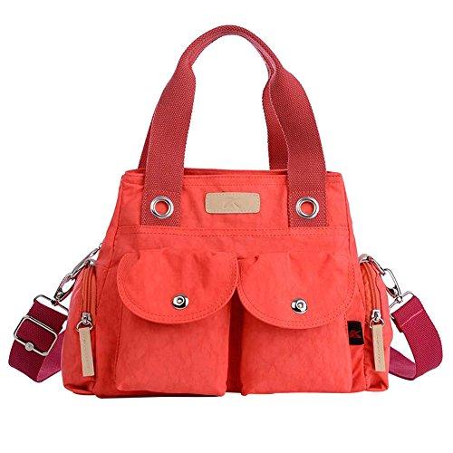 HT - Bolso bandolera  Mujer Rosso