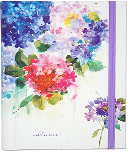 (Hydrangeas Large Address Book)