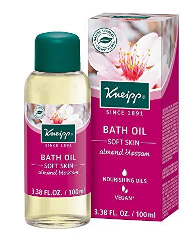 (Kneipp Almond Blossom Herbal Bath Oil, Soft Skin Moisture Bath Soak with Almond Oil, 3.38 fl. Oz)