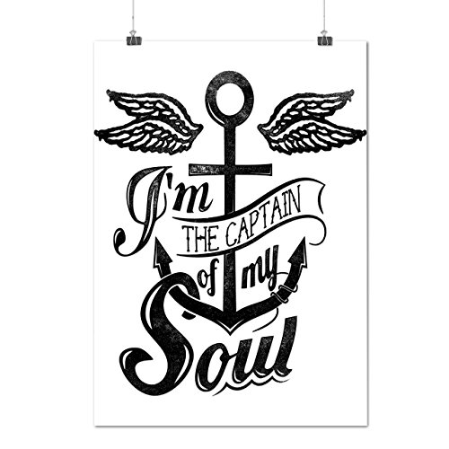 Captain Of My Soul Boat Cruise Matte/Glossy Poster A3 (12x17 inches) | Wellcoda (Costumes Starting With N)