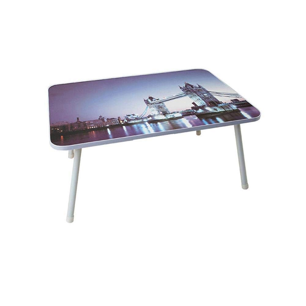 Shisky Mesa portátil,Lazy Mesa Plegable multifunción mm portátil Mesa 585  405  275 mm multifunción 44ef59