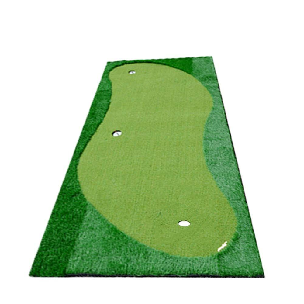 屋内/屋外ゴルフシミュレーションラバーボトムグリーン屋内人工パター練習グリーンゴルフパッティンググリーンシステムプロフェッショナル練習グリーンマット (色 : 緑, サイズ : 1.5*3m) B07SB4Q2FM 緑 1.5*3m