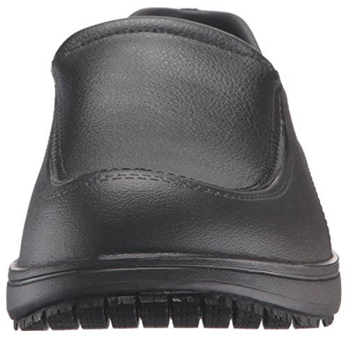 Skechers Work Mens Slip Resistant Lorman Shoe Black
