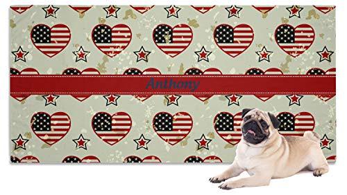 (YouCustomizeIt Americana Pet Towel (Personalized))