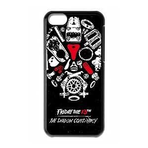 caja del teléfono celular del Funda iPhone 5c funda Negro viernes el TH O3M4OX