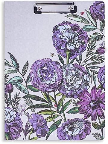 Vera Bradley Womens Clipboard Lavender