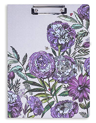 (Vera Bradley Women's Clipboard Folio, Lavender Meadow)