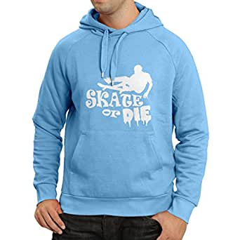 lepni.me Sudadera con Capucha Skate or Die - for Professional Skateboarder, Quotes by