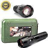 Flashlight,Dafana G700 Flashlight 5000lm BRIGHT X800 Tactical LED Military ShadowHawk Design