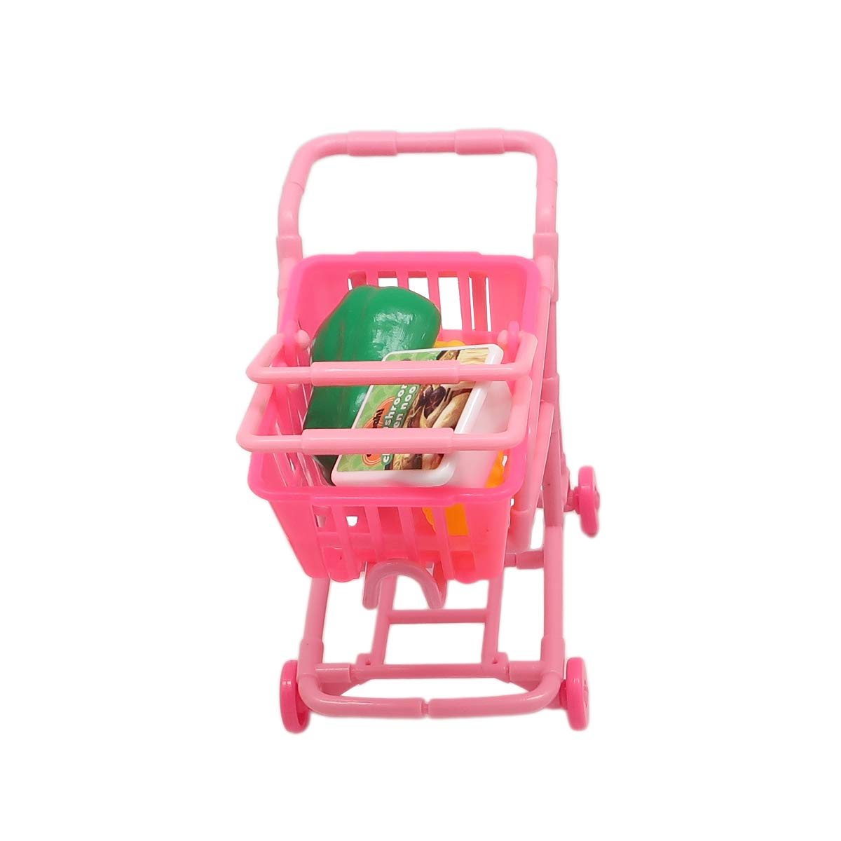Mini Shopping Set for Kids - Ideal Pretend Play Kit for 3+- Features Realistic Miniature Grocery Store Items, Cash Register, Shopping Cart ~ Great Birthday by Forest & Twelfth Kids (Image #4)