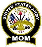 1-Pc Zenith Fashionable United States Army Mom Sticker Signs Proudly Windows Vinyl Size 4.5