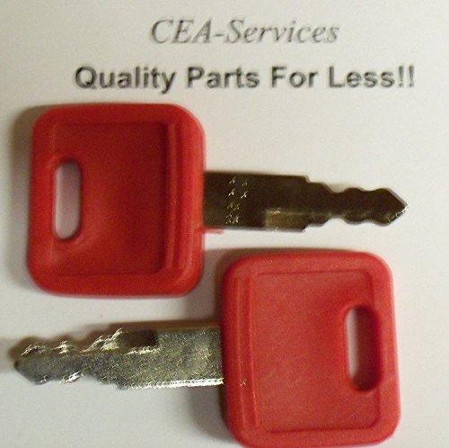 (2) Keys Fit John Deere & Hitachi Excavators Case Dozer Fiat New Holland H800 M1, Model: , Home & Garden Store
