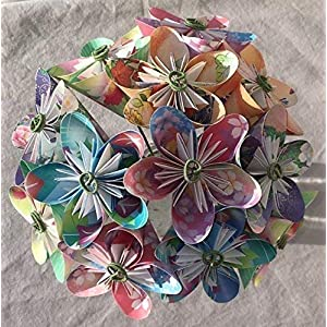 Floral Fantasy Origami Flower Bouquet 9