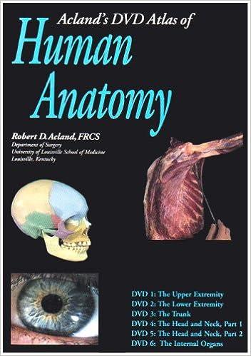 Acland\'s Atlas of Human Anatomy Dvd\'s: 9780781740753: Medicine ...