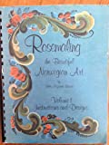 img - for Rosemaling, the Beautiful Norwegian Art, Vol. 1 : Instructions and Designs book / textbook / text book
