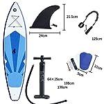 LXDDP-Paddle-Board-Gonfiabile-Stand-up-Paddle-Board-Competizione-Professionale-Paddle-Board-Sci-Nautico-per-Principianti-32-Metri
