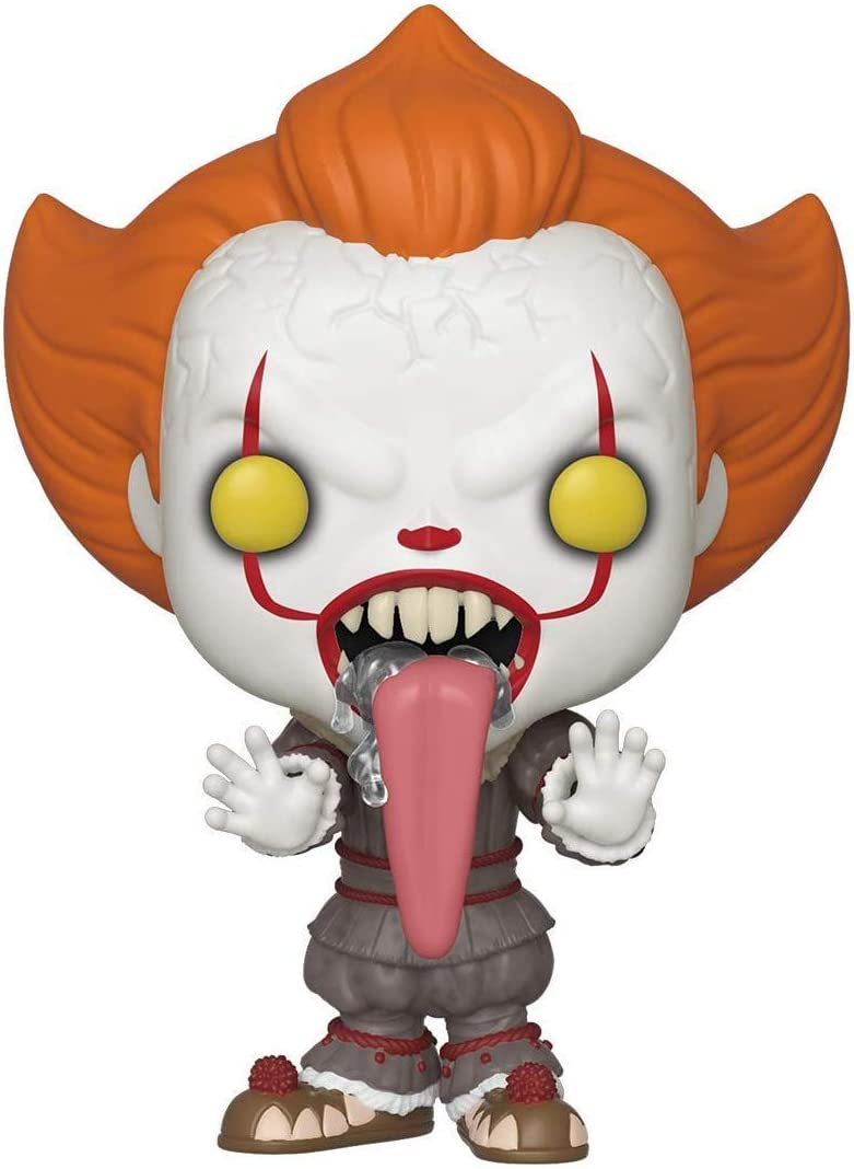 Funko- Pop Vinyl: Movies: IT: Chapter 2-Pennywise w/Dog Tongue Figura Coleccionable, Multicolor (40631)