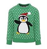 Kids Penguin Weihnachtspullover