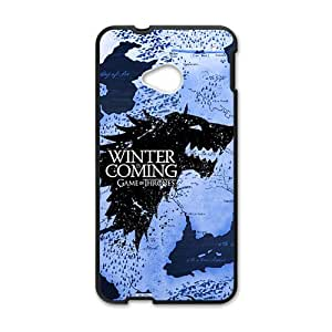 Winter unique map Cell Phone Case for HTC One M7