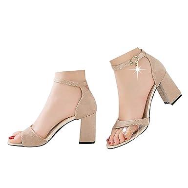 bfb0bba42a2 Amazon.com: Veodhekai Womens High Heel Wedge Sandals Pumps Bucket ...