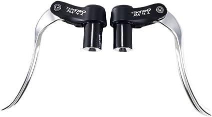 New Tektro RX 4.1 Triathlon Aero Bicycle Road Bike Brake Levers Black//Silver