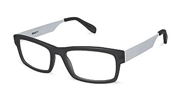 1f5062287ce Reade Street - Rectangular Trendy Fashion Reading Glasses for Men and Women  - Black Silver