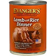 Evanger's Heritage Classics Lamb and Rice Dinner for Dogs (Pack of 12)