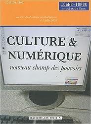 Culture & numérique, nouveau champ des pouvoirs : Actes du 5e colloque interdisciplinaire Icône-Image du 4-5 juillet 2008
