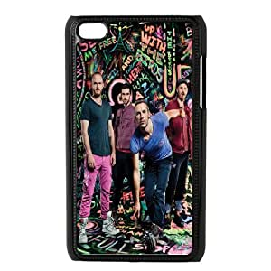 Pop Rock band Coldplay art pattern Hard Plastic phone Case Cover FOR IPod Touch 4 ZDI114920