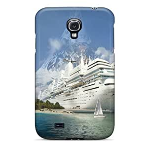Tpu Fashionable Design Olmedreca Rugged Case Cover For Galaxy S4 New by Maris's Diary