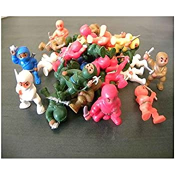 100 PCS *NINJA FIGHTERS NINJAS FIGURES WHOLESALE BULK VENDING TOYS PARTY FAVORS