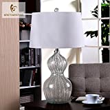 LINA-European-style luxury glass lamps minimalist creative stylish American-style living room gourd bedroom bed lamps