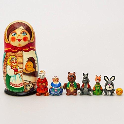 Nesting Doll Theater''Kolobok Fairy Tale'' by Art Alliance