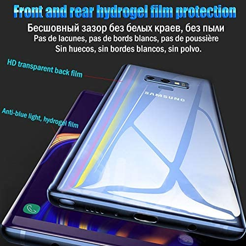 LGYD for 25 PCS Soft Hydrogel Film Full Cover Back Protector with Alcohol Cotton Scratch Card for Galaxy S10