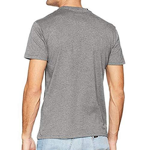 Replay Homme Shirt Replay Gris Kurzarm Kurzarm wOW8R6qqnx