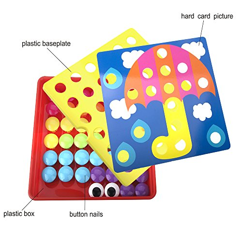 NextX Art Toy Color Matching Mosaic Pegboard Puzzle Games Boys
