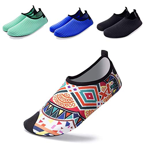 Socks Sport Bohemian Yoga for on Dry Outdoor Aqua Slip Skin Water Swim Surf Barefoot Wanvego Beach Shoes Quick qwfagT0fx