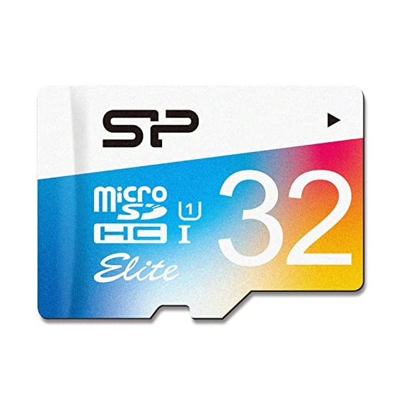 Silicon Power 32GB MicroSDHC UHS-1 Memory Card - with Adapter (SP032GBSTHBU1V20UR) 1 UHS-1 Class 10 specifications, enabling fast file transfer speeds and Full-HD video recording. High compatibility for different types of devices including smartphones, tablets, DSLR and HD camcorder. Come with a SD card adapter that enables versatile usages for any SD enabled devices.