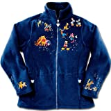 Disney Characters Fleece Jacket: Magic Of Disney by The Bradford Exchange - M