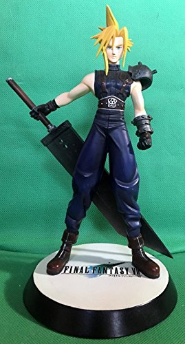 Cloud Strife cold cast statue 1997 Final Fantasy VII 1/8 scale with box NOT PVC