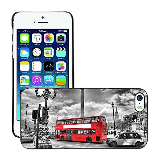 Premio Sottile Slim Cassa Custodia Case Cover Shell // V00002683 london Bus en // Apple iPhone 5 5S 5G