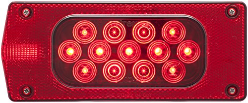 - Optronics STL37RS Red Lens Led Combination Tail Light for Driver Side