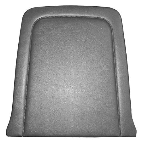 TMI 10-7415-958 Mustang Black Sierra Grain Vinyl Standard Upholstery (Coupe, Convertible & 2+2 Fastback, Back View)
