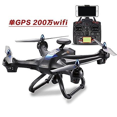 Zantec helicóptero altura avión double GPS 5.8G Graph accesorios de transmisión en tiempo real con la wifi cámara: Amazon.es: Hogar